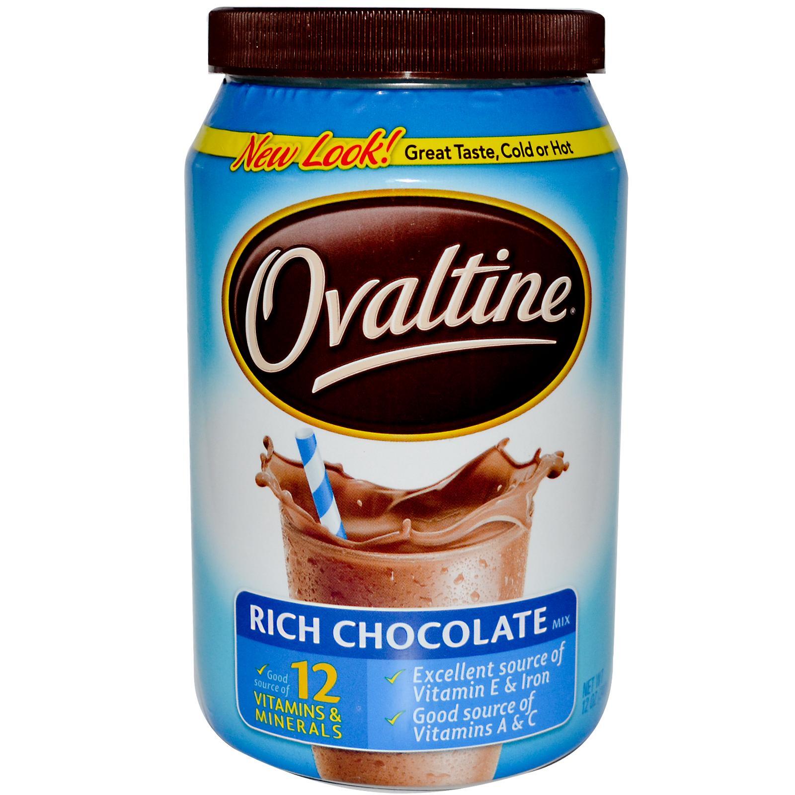 OVALTINE RICH CHOCOLATE - Boricua Produce
